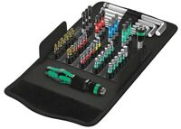 Wera 05057460001 Kraftform Kompakt 100 Werkzeug-Set 52-tlg. Schraubwerkzeug