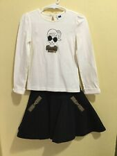 Janie and Jack Butterscotch Belle Top 4 And Skirt 2T *Read
