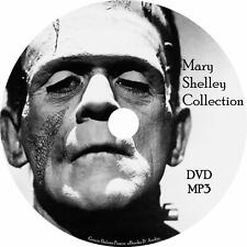 Mary Shelley Audiobook Collection in English on 1 MP3 DVD Frankenstein Free Ship