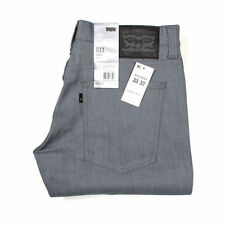 Vaqueros de hombre grises Levi's 100% algodón