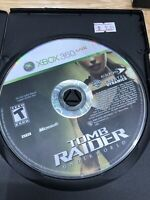 Tomb Raider: Underworld Microsoft Xbox 360 2008 Disc Only *