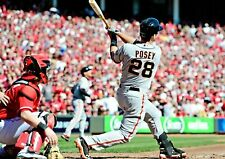 Buster Posey San Francisco Giants UNSIGNED 8x10 photo
