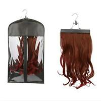 Hair Storage Bag Holder Case Dustproof Protector Hanger For Hair Extensions WA