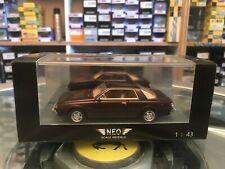 Neo Mitsubishi Sapporo MK1 Metallic Brown 1/43 MIB Ltd Ed Outstanding Detail