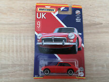 2021 Matchbox '71 MG GT Coupe - 1:64 1/64 Stars of UK 9/12 Red