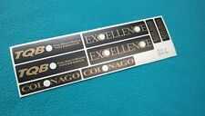 AMBROSIO EXCELLENCE COLNAGO EDITION RIM DECALSET GLOSSYGOLD/BLACK 28 32 36 HOLE