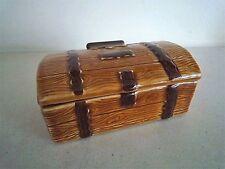 Wade porcelain treasure chest trinket box VGC