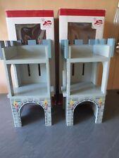 +++ 2 x Le Toy Van EDIX The Age village Standard Tower +++ NOUVEAU & NEUF dans sa boîte