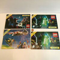 Lot of 4 Vintage LEGO Legoland Catalogs 1989 1990 Builder's Club booklets