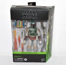 Star Wars Boba Fett Action Figure & Accessories Return Of The Jedi Black Series