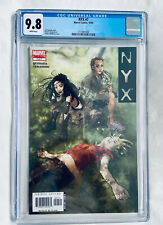 NYX #7 (2005) CGC 9.8 - X-23 Laura Kinney - Wolverines Daughter  FINAL ISSUE KEY