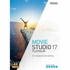 MAGIX VEGAS Movie Studio Platinum 17 Full🔑lifetime✔️ Fast DELVRY🔥🚀Windows 64x