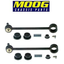 For Cadillac Chevy GMC Hummer Jeep Pair Set of 2 Rear Sway Bar End Links Moog