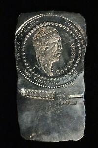 H. Alvin Sharpe .999 Fine Silver Art Bar 225 Grams, 7.24 Troy Ounces