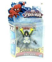 "Marvel Ultimate SpiderMan Flip Stike Doc Ock 4"" Action Figure w/ Power Webs"