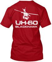 60 Blackhawk - Uh-60 Hanes Tagless Tee T-Shirt