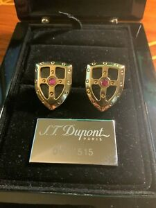 Exclusive St. DUPONT Cufflinks / White Night Limited Edition 90/515