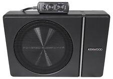 """Kenwood KSC-PSW8 8"""" 250w Slim debajo del asiento activa accionado Coche/Camión Subwoofer Sub"""