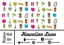 Hawaiian Luau Waterslide Nail Decal - 50 PC  - BNA-10117