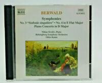 Symphony 3 & 4 BERWALD (Artist)
