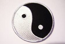 #0490 Motorcycle Vest Patch YING YANG