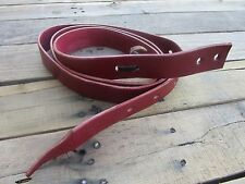 LEATHER LATIGO STRAP WESTERN SADDLE REPLACEMENT TACK OFF BILLET TIE DOWN BARREL