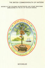 Seychelles Flags. Badges of the Colonies, Protectorates & other Territories 1964