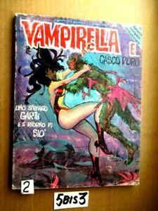 VAMPIRELLA N 2 UNO SFRENATO GARTH E IL RITORNO DI SIO GENNAIO 1978     (5BIS3)