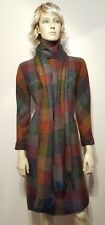 Vintage Anne Fogarty Dress With Scarf RARE! GORGEOUS! Sz 10