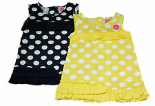 Casual Spotted 100% Cotton Dresses (0-24 Months) for Girls