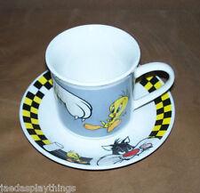 Sylvester & Tweety Mug Cup And Saucer Set Gibson Looney Tunes Warner Bros