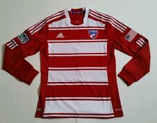 Adidas FC Dallas Authentic Long Sleeve Soccer Jersey U.S Mens XL $120