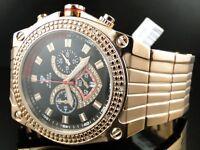 Aqua Master Jojo Joe Rodeo Rose Gold Real Diamond Watch