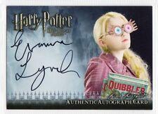 Harry Potter Half-Blood Prince Autograph card Evanna Lynch/Luna Lovegood