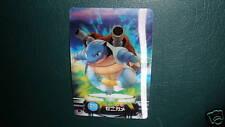 Pokemon Bandai Blastoise Wartortle Squirtle 3D Evo Lenticular Holo Type Card
