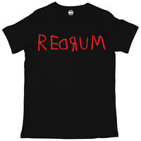REDRUM MURDER THE SHINING HALLOWEEN MENS PRINTED FANCY DRESS T-SHIRT