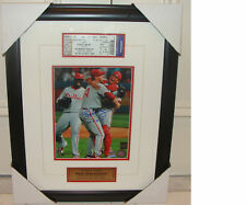 Roy Halladay Philadelphia Phillies Signed 8x10 Frame PG