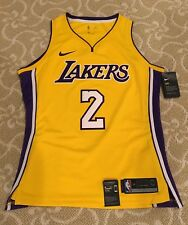 02ab49315 Nike NBA Swingman Jersey Lakers Yellow 867048-736 XL 48  2 Lonzo Ball  110