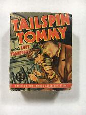 Tailspin Tommy 1940 Blb Better Little book 1413 Lost Transport