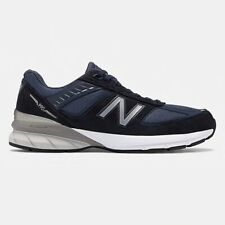 New Balance Men's Made in US 990v5 Navy Running Shoes