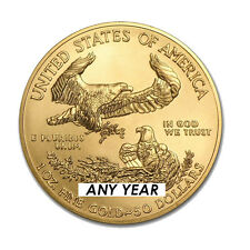 1 oz American Eagle $50 Gold Coin - Random Year US Mint Gold American Eagle 1 oz