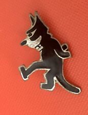 More details for genuine rare 1920s/1930s  felix the cat silver? and enamel badge