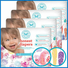 Girls 2 Size Baby Disposable Diapers