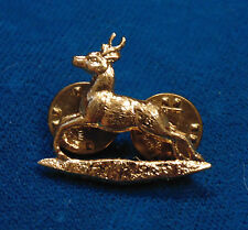CANADA Canadian Armed Forces RCD Royal Canadian Dragoons stag collar bar badge