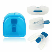 NEW Stop Snoring Mouthpiece Guard Anti Snore Sleep Bruxism Apnea Teeth Grinding