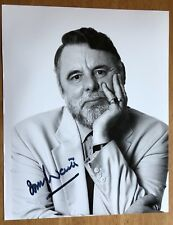 Humanitarian and Author Terry Waite Autographed Gemma Levine Photo