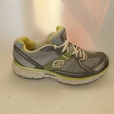 Womens Skechers Tone-ups Fitness Shoes Size 8.5M Gray Green (11752) Sneakers