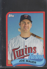 2014 Topps 1989 Mini Die-Cut #TM-JM: Joe Mauer