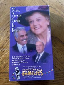 Mrs. Arris Goes to Paris (VHS, 2001) Diana Rigg, Angela Lansbury