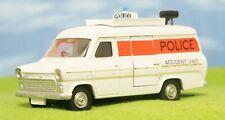 DINKY TOYS #287 - FORD TRANSIT VAN - POLICE ACCIDENT UNIT - VINTAGE ORIGINAL CAR
